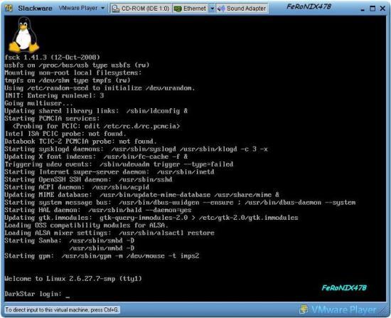 linux-slackware-vmware-1